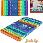 Push Pop Game Fidget Toy it, Silicone Rainbow Chess Board Bubble Sensory Toys