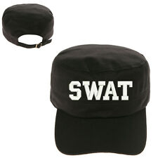 SWAT Special Weapons and Tactics MILITARY CADET ARMY CAP HAT HUNTER CASTRO