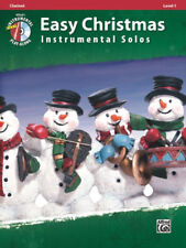 Easy Christmas Instrumental Solos, Level 1 : Clarinet