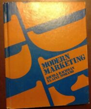 Modern Marketing By David J Rachman & Elaine Kotary Romano HC 1980 1st Printing