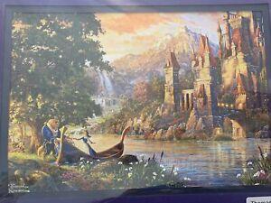 "Thomas Kinkade ""Disney Series"" Beauty And The Beast"