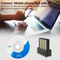 Mini Wireless USB Bluetooth Adapter 5.0 Dongle Receiver PC WIN 7 8 10 XP Vista