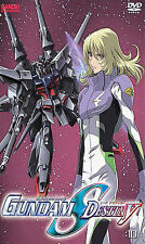 Mobile Suit GUNDAM SEED Destiny V10 DVD ANIME Sealed Free Shipping