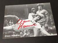 CLAUS HORMEL Handball Weltmeister 1978 signed  Autogrammkarte 10 x 15
