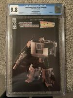 Transformers Back to the Future #1 1:25 Toy Photo Gigawatt Variant Cover CGC 9.8