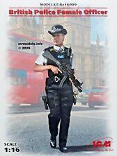 ICM 1/16 Scale British Police Female Officer Kit No 16009