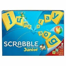 SCRABBLE Junior Mattel Children's Board Game 6 2012