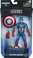 Marvel Avengers - 15.2cm Leyenda Capitán América Figura de Juguete