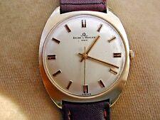 14K Solid Gold Baume & Mercier Gentleman's, intorno al 1970, Onorato, 34.5mm custodia.