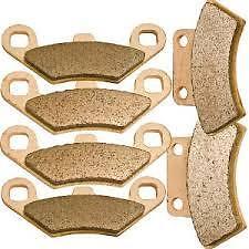 HONDA CR250R REAR BRAKES BRAKE PADS CR 250 250R 95-01 125