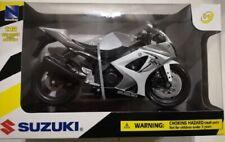 Suzuki GSXR 1000 1:12 DieCast Motorbike Toy Model Bike New Ray