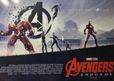 """Avengers ENDGAME 15.5"""" X 11""""  IMAX AMC MEMORABILIA MARVEL STUDIOS Poster NEW"""