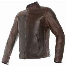 GIACCA DAINESE MIKE PELLE DARK BROWN TG.52