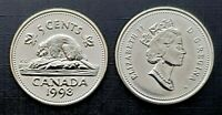 Canada 1998W Proof Like Gem Five Cent Nickel!!