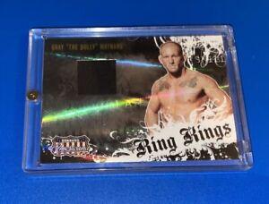 SP Donruss Americana Gray The Bully Maynard Ring Kings Patch Relic Card UFC /450