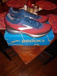 Brooks Levitate 2 Mens Size 13 Running Shoes NIB Chili/Navy/Black