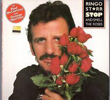"Beatles (Ringo) ""Smell The Roses"" 1981 German Boardwalk Stock Copy LP w/Inner"
