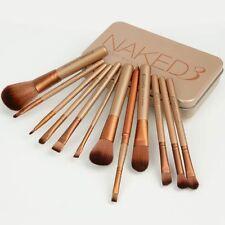 12 pcs Nake3 Makeup Brush Set Cosmetic Brushes Blusher Eyeshadow Consealer Lip!!