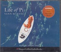 Yann Martel Life Of Pi 5CD Audio Book Abridged Man Booker Prize Winner FASTPOST