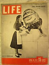 LIFE April 28 1947 J Robinson, A Oakley, Texas City, post WW II England, Chaplin