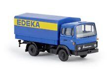 Brekina 34716 - 1/87 Magirus Mk Pritsche/Plane - Edeka - Neu