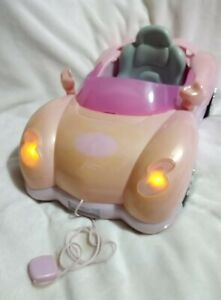 Baby Born Lights & Sounds Cabriolet Toy Dolls Car Pink Pullalong Zapf Creations