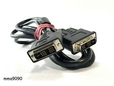 DVI-D Male Dual Cable 18+1 Pin Digital Monitor Video Link To DVI male 1.8 m/ 5ft