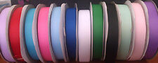 """Grosgrain ribbon 7/8"""" - 22mm, Pink, Blue, Red, Green ,lavender, Sold by 2 Metres"""