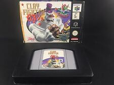 Clay Fighters 63 1/3- Nintendo 64 Boxed Game N64 PAL - CIB Complete In Box