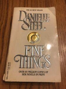 Fine Things Danielle Steel Paperback Ships N 24h