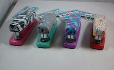 Save! Lot Of 4 Staples Teen Vogue Various Colors And Prints Staplers Free Ship!