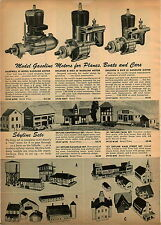 1947 PAPER AD Madewell Ohlsson & Rice 49 Model Gas Gasoline Toy Model Engine