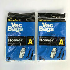 Home Care HOOVER Upright Type A Filter Vacuum Cleaner Bags - 6 Bags New in Pkg
