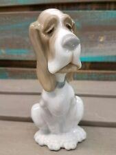 LLADRO Daisia NAO Sad Hound Dog Retired #4618 Porcelain Figurine