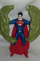 """SUPERMAN - Man Of Steel Superman Bank Breaker 6"""" Action Figure Mattel DC Comics"""