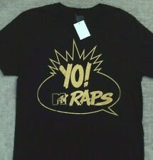 YO MTV Raps T Shirt_ Size Medium_ New with tags_ Official Licensed Product