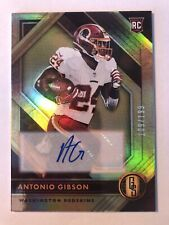 2020 Panini Gold Standard ANTONIO GIBSON Autograph /199 Washington Redskins Auto