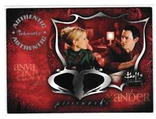 Buffy Connections Dual Pieceworks Costume Card PWC-2 Xander and Anya