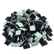 50 Pieces Adhesive Cable Wire Clips Cable Wire Management Holder, Clamps Tie