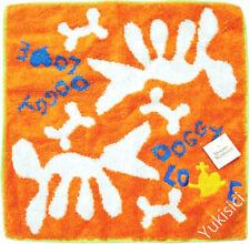 Vivienne Westwood Japan Ltd Handkerchief Towel Doggy Love-Orange-28cm