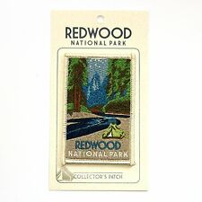 Redwood National Park Sourvenir Patch - Redwoods California Park
