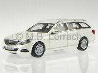 Mercedes S212 E-Class T-Model Elegance 13 white diecast model car 1/43