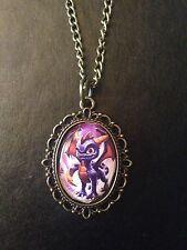 Foto De Bronce encanto collar colgante Spyro El Dragón Skylanders Ps1