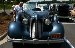 1938 Buick Century Series 60 Hood Hinge - Stainless