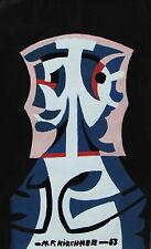 Heinz Friedrich Kirchner 1926-2000, Januskopf- Komposition,Gouache, datiert 1983