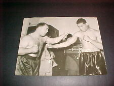 1939 JOE LOUIS VS TONY GALENTO ORG.WIRE PHOTO (RARE)