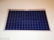 Microfiche Catalogo Ricambi Suzuki GSF 600 Stand 12/1999