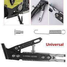 Universal CNC Adjustable 10-60mm Motorcycle Side Stand Leg Kickstand Aluminum