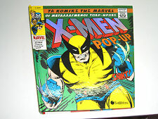 MARVEL X-Men POP- UP Retro Character Collection COMIC Book GREEK HARD COVER