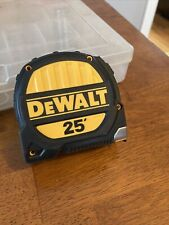 DeWalt Fixed Blade Tape Measure 25ft